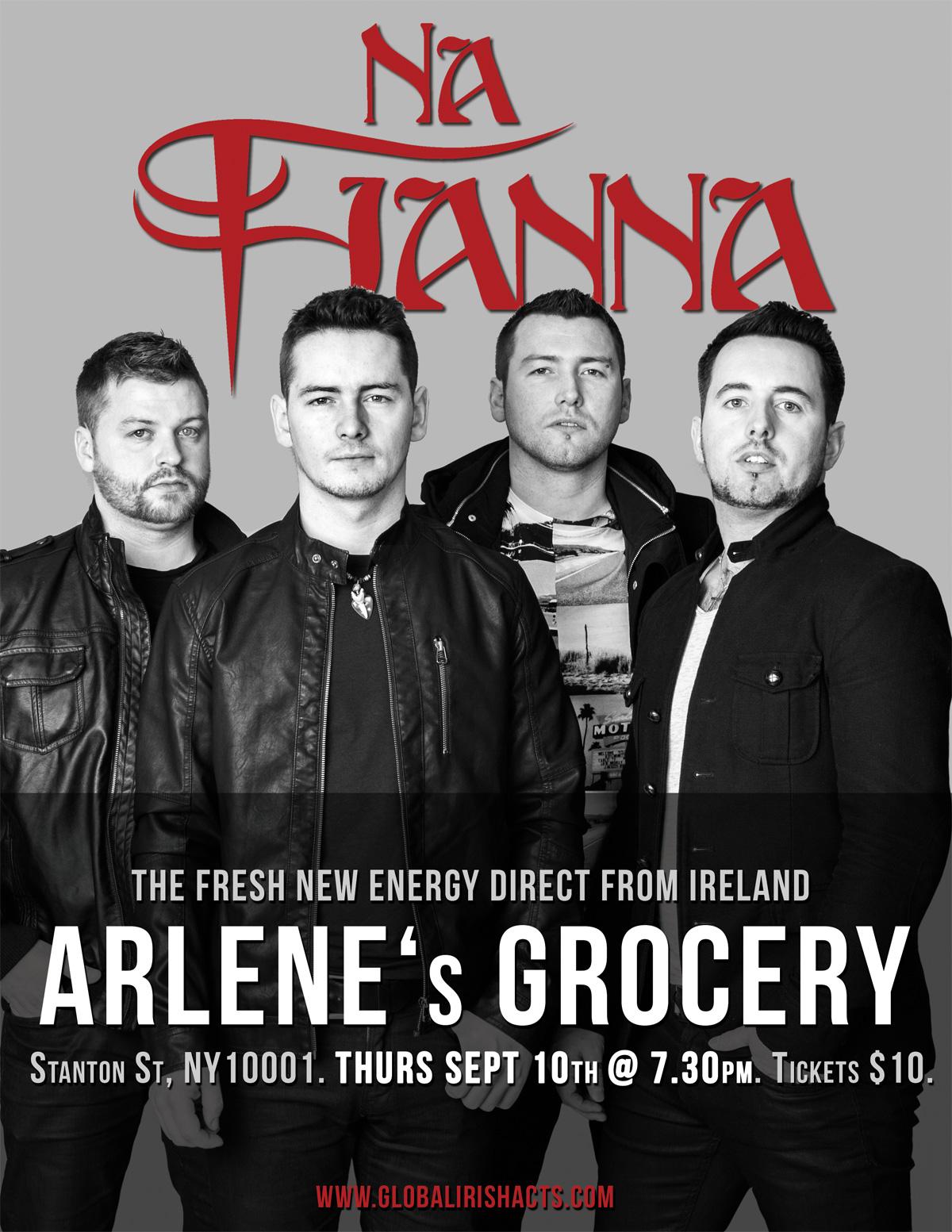 Na Fianna Poster